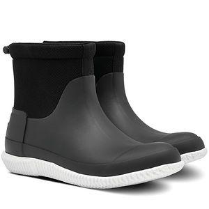 NIB Hunter Original Black Short Boot